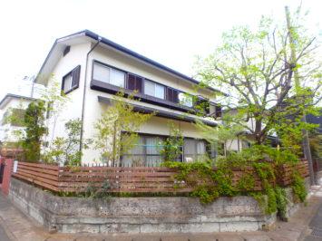 茅ヶ崎市N様邸の植栽工事と造園外構工事の写真です。