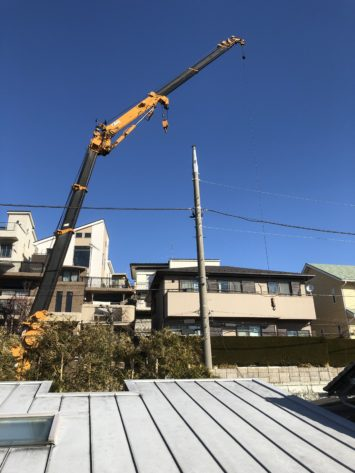 横須賀・葉山・逗子・鎌倉・湘南・川崎・横浜の庭づくりをしている彩葉苑がつくった横須賀O様邸の植栽工事と造園外構工事の写真です。高木植栽の写真です。