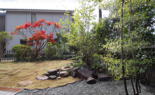 いろは苑が横須賀で作った茶庭
